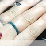 无痕款的戒指