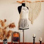 绳子编织的衣服