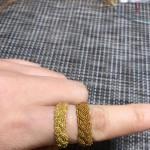 买的24K金色的高光蜡线,退了两遍蜡还是不亮