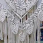 编织七叶挂毯