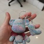 幻彩小熊钥匙扣