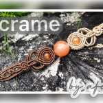 【编绳】手链|Macrame 手链|双色复古手链|DIY|Macrame by Afeng 2020-36