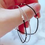极细手绳编织教程,可用于手链脚链的做法