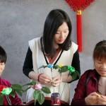 中国结花艺之美第一课玫瑰花教程