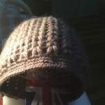 钩针编织冬帽