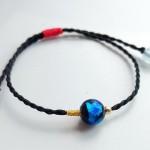 古法琉璃手绳编法教程,简单手链做法