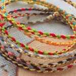 情侣手绳编织方法,三生有幸手绳教程