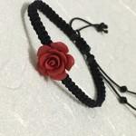 朱砂玫瑰手绳