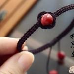相思豆红豆相思手链手绳制作教程