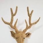 鹿     本来以为不是问题的鹿角却返工了多次。经验就是在不断地修正中逐渐积累的。