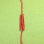 绳编教程-基础结-凤尾结