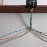 八股辫锦鲤手绳视频教程