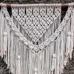 编绳挂毯教程图解视频,外网编绳制作方法