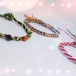圣诞风格手绳编法视频教程