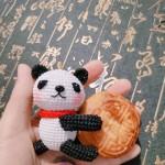 新课《抱指熊猫》,挂饰图文教程拼课活动进行中
