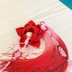 红色的莲花