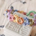 【教程 | 结绳】雀头结水波纹多彩小花手链,只需学会一种结,缤纷多彩,无敌增色