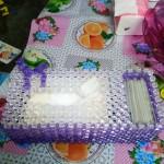 纸巾盒珠子笔筒