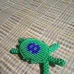 手工编织、线编《乌龟》