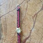 朋友的手表,配不上表链了,简单的平结,可以吗