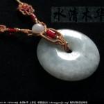 [水清木华作品]160-中国传统配饰系列7-平安扣项链