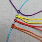 【手工编绳】你知道几种手工编绳挂线的方法呢?