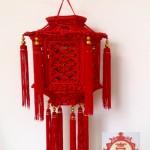 我的获奖作品(中国结艺立体宫灯)多图展示
