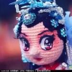 [中国风戏曲娃娃之--生,旦,净,末,丑。]--旦(钩针作品
