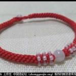 玉米结串珠本命年红绳编织教程-- 绳结教程