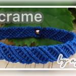 【手链】编绳|Macrame 手链|8股绳编法(14)|Macrame by Afeng 2020-19