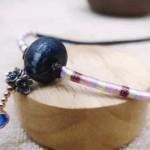 天珠锁骨链编织教程