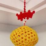 镂空球体挂饰