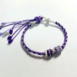 紫色系手链,今日新作