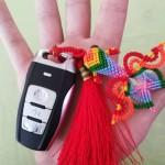 小金鱼车钥匙挂件