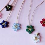 教你用珠子做一个五角星小吊坠