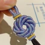 【编绳】绕线+曼陀罗花结  又经典又美丽