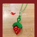 小草莓挂件