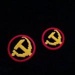 手工编织党徽