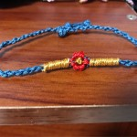 小红花手绳