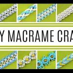 轻松学编绳,教你21个简单的手链编织方法