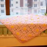 漂亮又可耐的小毯子:爆米花毯