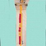 手链——红黄配