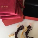 编手链:两年前送给儿子的生日礼物有些掉色,重新编一下.