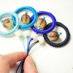 简单清新小挂件的编织方法