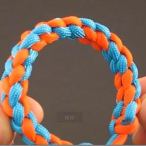 如何编手链绳-伞绳编手链视频教程