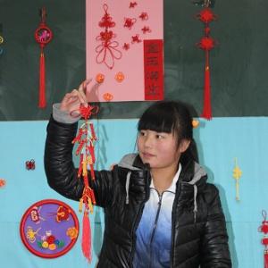 淄博工业学校单县分校幼师专业中国结编织实录