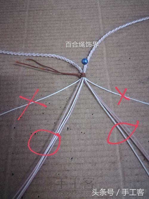 详细编绳教程,精美的项链编法