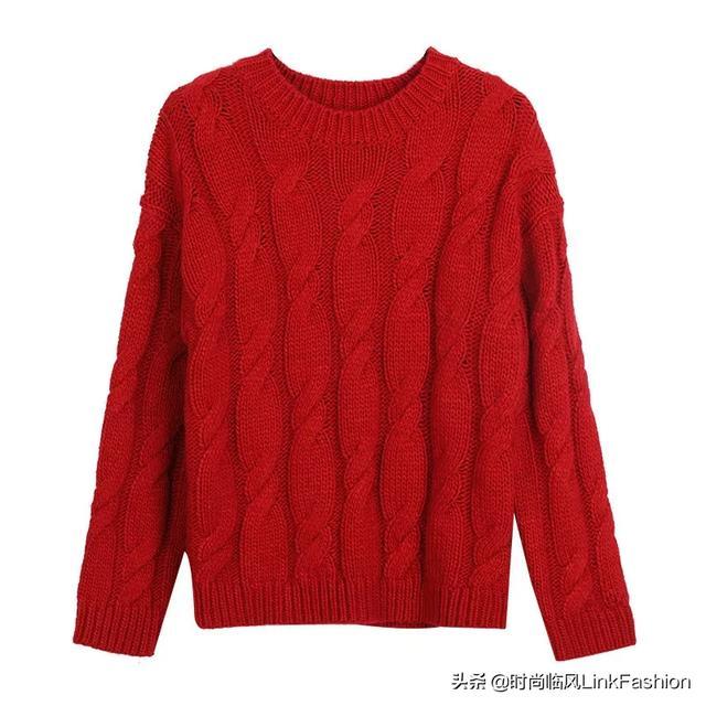 新年穿红色,最好看