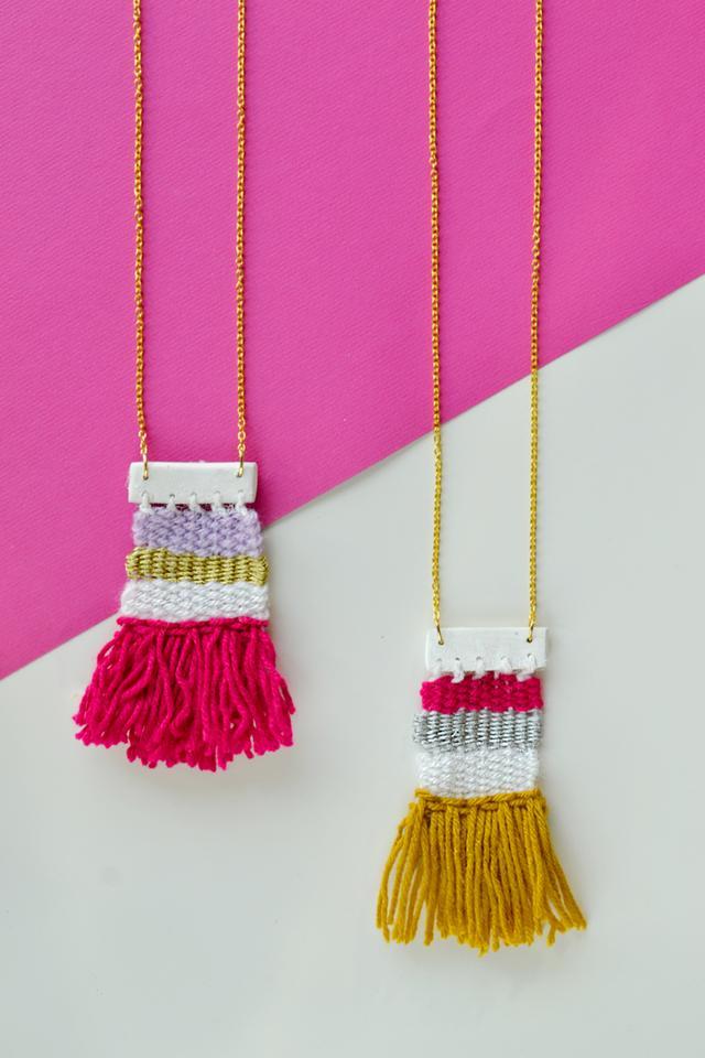 教你手工编织一条迷你的项链,这样详细的教程,小白都能一看就会