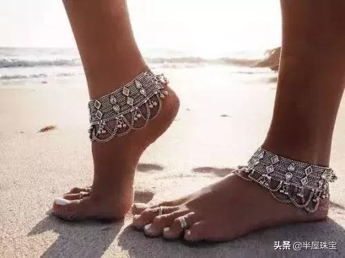 脚链别乱戴,戴错又丑又败运,戴对才能优雅又招财!